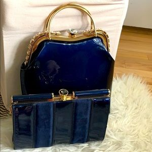 Glamorous vintage inspired handbag set (2)